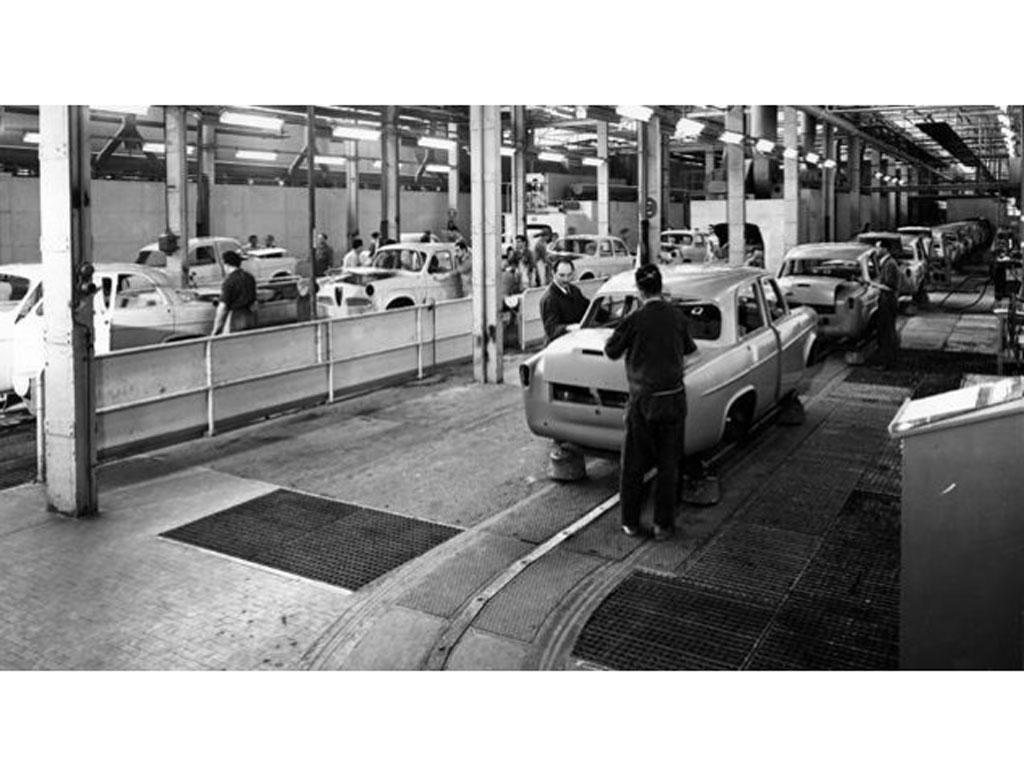 L'esperienza dei levabolli La Ventosa nasce a fine anni 60 in Alfa Romeo